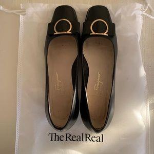 Beautiful Black Salvatore Ferragamo Heels